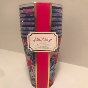 NWT Lilly Pulitzer tumblers